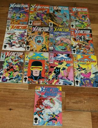 Marvel X - Factor Complete Run 1 - 12 1 2 3 4 5 6 7 8 9 10 11 12 And Annual 1
