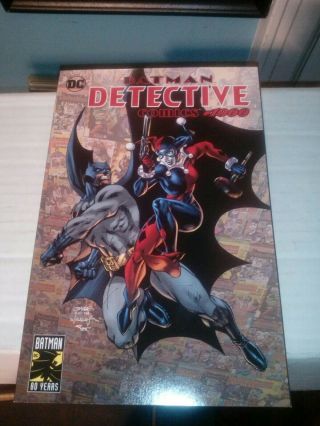 Batman Detective Comics 1000 Jim Lee & Harley Quinn Variant Dc Rare Comic Book