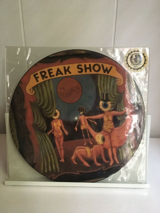 The Residents Freak Show Rare Picture Disc Lp Limited Edition 1990 Vg,