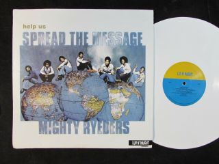 Mighty Ryeders Help Us Spread The Message White Colored Vinyl Re Lp Soul Funk