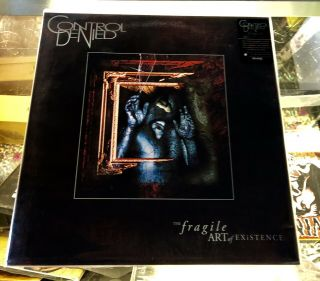 Control Denied - The Fragile Art Of Existence 2xlp Vinyl Death Chuck Schuldiner