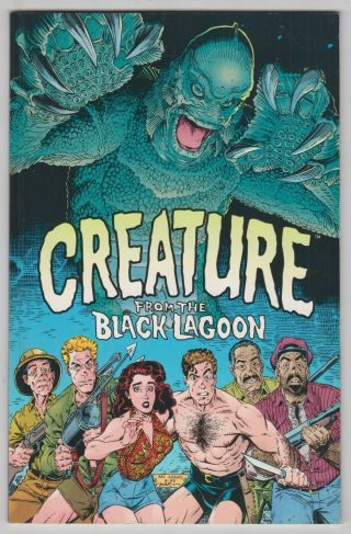 Creature From The Black Lagoon,  Art Adams,  Terry Austin Dark Horse 1993 Fn/vf R