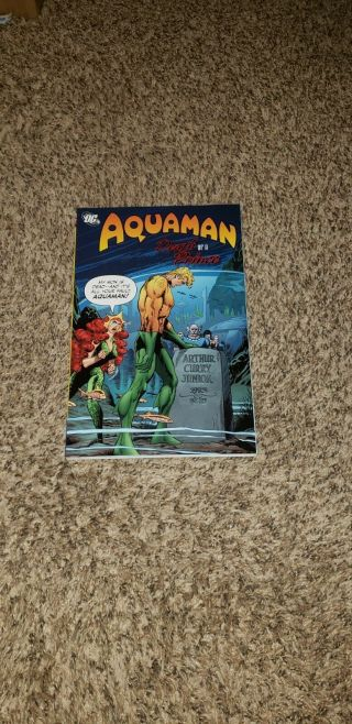 Aquaman - Death Of A Prince (dc 2011) 1st Printing Ultra Rare Oop