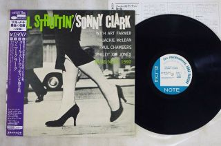 Sonny Clark Cool Struttin Volume Two Blue Note K18p - 9279 Japan Obi Mono Vinyl Lp