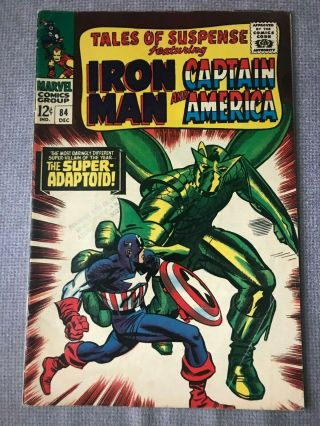 Tales Of Suspense 84 Marvel Comics 1967 Iron Man And Captain America Silver Age