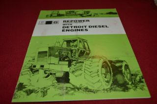 Gm Detroit Diesel Engines Repower Your Farm Equipment Dealers Brochure Amil15