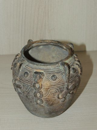 Antique Chinese bronze vase,  Ming dynasty 8