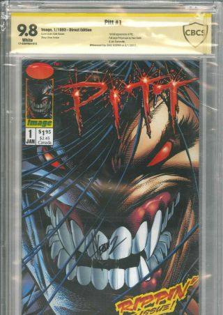 Pitt 1 Cbcs 9.  8 Ss Signed By Dale Keown