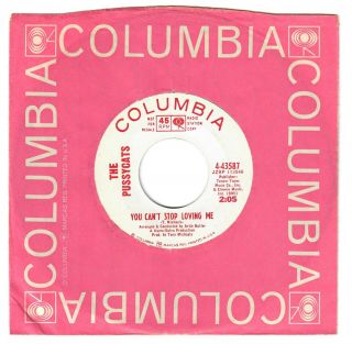 The Pussycats 1966 Columbia 45rpm You Can