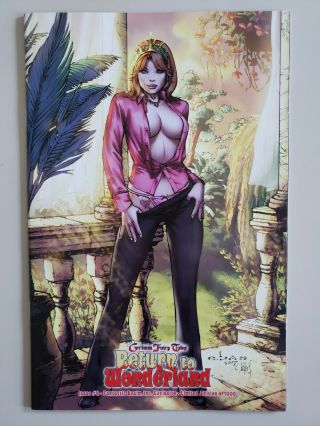 Grimm Fairy Tales Return To Wonderland 4 Fantastic Realm Variant Vf/nm