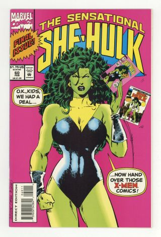 Sensational She - Hulk 60 1994 Nm - 9.  2