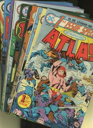 1st Issue Special 1,  2,  3,  4,  5,  6,  7,  8,  10,  11,  12 11 Books King Kirby Dc 1st Atlas