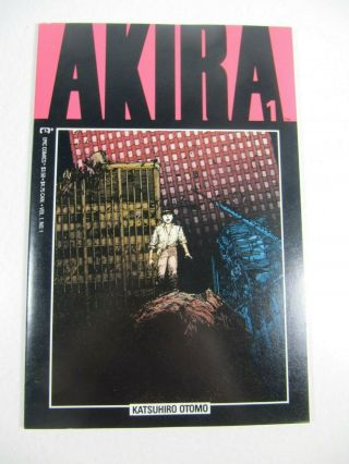 Akira 1 (epic Comics 1988) Movie Soon Vf/nm 1st Print $3.  50 Price On Cover