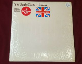 The Beatles: Historic Sessions Uk 1981 Audiofidelity Afeld 1018 2 Lp Record Set