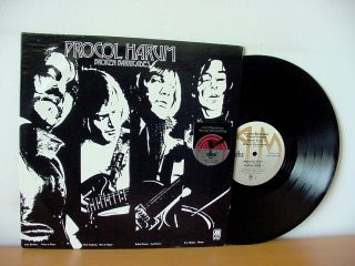 "Procol Harum "" Broken Barricades "" Dbx Encoded Audiophile A&m Sp 4294 Robin Trower"