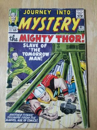 Journey Into Mystery Thor 102 Marvel Comics 1st First Appearance Of Hela & Sif