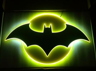 Batman - Dc Comics - Led Neon Style Lighting 15 X 25 Brandlite Retailer Sign
