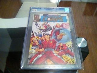 H.  A.  R.  D Corps 1 Cgc 9.  6 Nm,  Gold Edition Valiant 1993