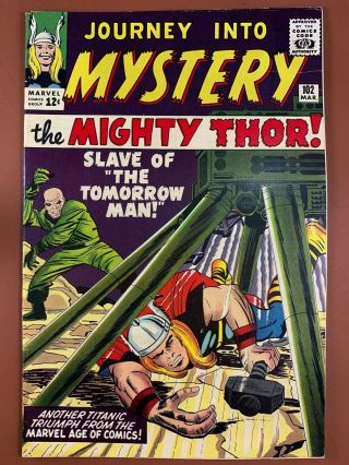 Journey Into Mystery Thor 102 Marvel Comics 1st Appearance Of Hela & Sif
