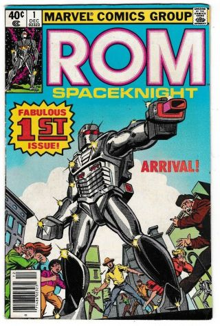 Rom 1 (fn) Spaceknight Marvel 1st Issue Collectors Item 1st Appearance 1979