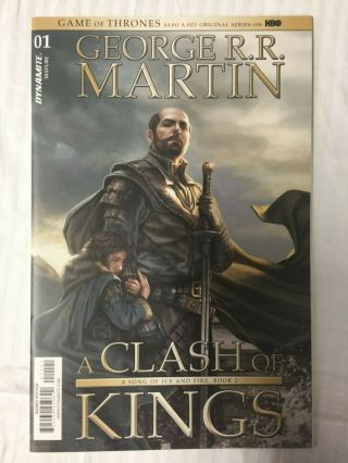 George Rr Martin Signed Ltd Game Of Thrones Clash Of Kings 1 Comic Hbo Official