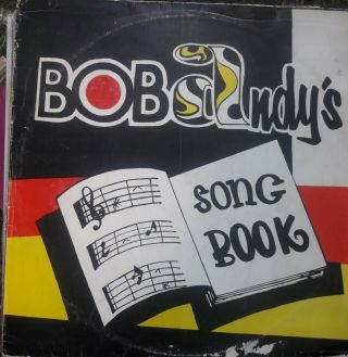 Bob Andy's - Song Book Lp Vg,