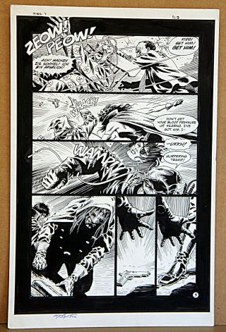 The Spider 3 Page 3 Art By Tim Truman Inks By Quique Alcatena