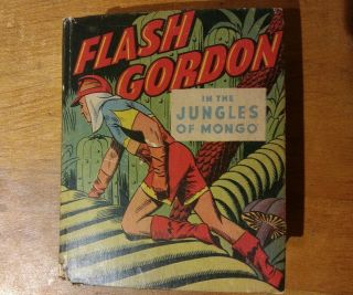 Flash Gordon Jungles Of Mongo Big Little Book Alex Raymond Art 1424