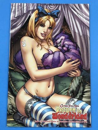 Grimm Fairy Tales Return To Wonderland 5 - Ebas Blonde Alice Exclusive Nm,