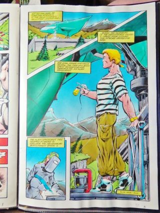 """Dragonforce 2 - 4 Pg 33 Painted Color Comic Art 11 """" X 17 """" By Dale Keown"""