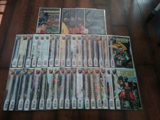 Dc One Million (complete Set Of 40 Comics) 1 - 4,  All One - Shots,  1,  000,  000 1998