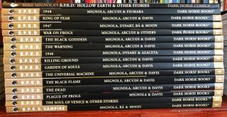 B.  P.  R.  D.  Volumes 1 - 14,  Complete Hellboy Mignola Bprd 1st Printings Hollow Earth