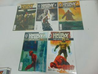 Hellboy And The B.  P.  R.  D.  1952 1 - 5 2015 Dark Horse Comics