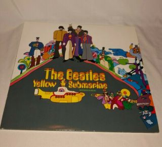 The Beatles - Yellow Submarine Vinyl Apple 7070 Uk 1969