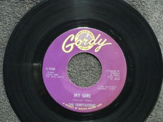 Northern Soul Temptations My Girl Gordy 7038 M -