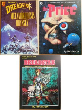 Complete 3 Vol Trilogy: Metamorphosis Odyssey The Price Dreadstar Gn Starlin
