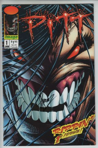 Pitt 1 Image Comics 1993 Signed By Dale Keown Near