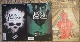 Bone Parish 1 & 2 Cover A & Virgin Variant Boom Studios Comic Optioned Movie Nm