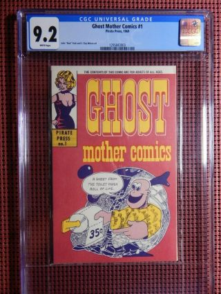 Ghost Mother Comics 1 1969 Cgc 9.  2