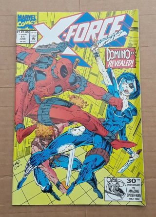 X - Force Complete Run 1 - 40 1st Issue Deadpool ' s 2nd App 1st Domino 1991 VF/NM 3