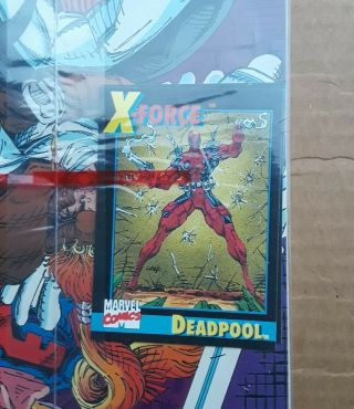 X - Force Complete Run 1 - 40 1st Issue Deadpool ' s 2nd App 1st Domino 1991 VF/NM 4