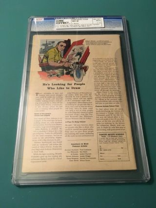 FANTASTIC FOUR 1 CGC 4.  0 OW/W PAGES 4