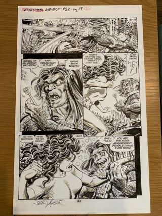 Sensational She - Hulk Issue 38 Page 23 John Byrne Art Marvel Comics