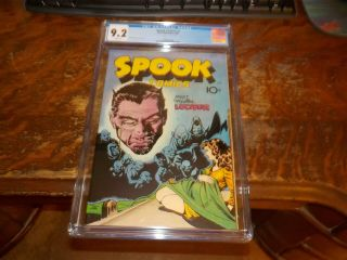 Spook Comics 1 1946 Cgc 9.  2 Grade Comic Book