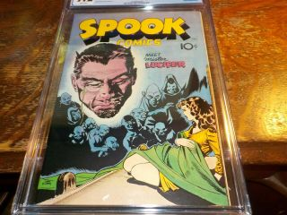 Spook Comics 1 1946 CGC 9.  2 Grade Comic Book 5