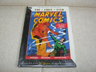 The First Ever Marvel Comics 1,  1990 Reprint,  Human Torch,  Submariner,
