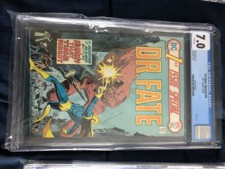 Dr.  Fate 1st Issue Special 9 Cgc 7.  0