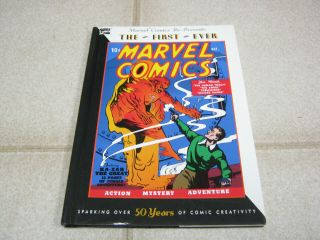 The First Ever Marvel Comics 1,  1990 Reprint,  Human Torch,  Submariner