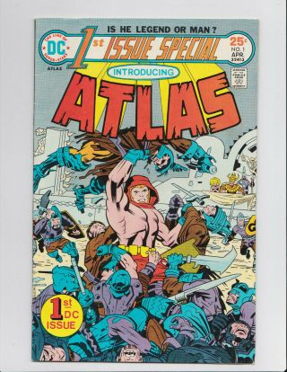 Dc 1st Issue Special (1975) 1 Atlas Jack Kirby Vf Comic Book