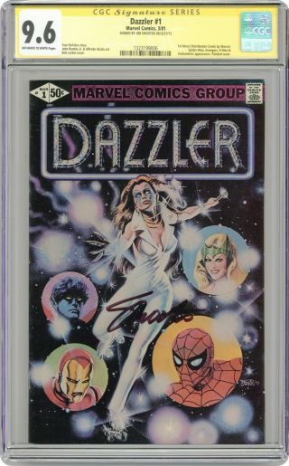 Dazzler 1a 1981 Corrected Variant Cgc 9.  6 Ss 1323199006